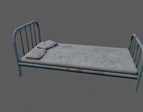 mattress 3D model low-poly old bed