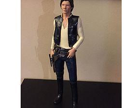 solo Han Solo Print 3D HQ 30cm
