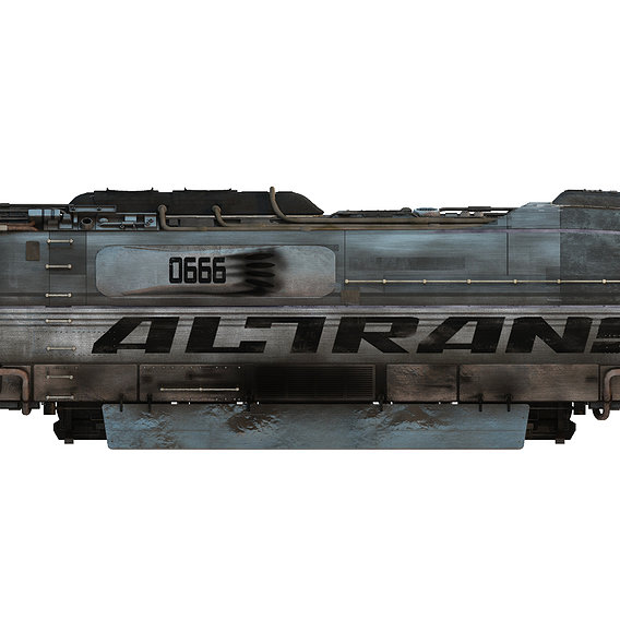 "Hover Train from the Firefly episode ""Train Job"""