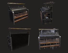 Spinning machine WWII 3D model