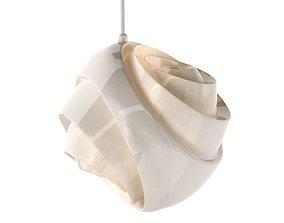 3D model Spherical Stylish Bedroom Lamp