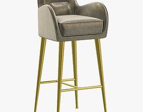 Essential Home Dandridge Bar Chair 3D model