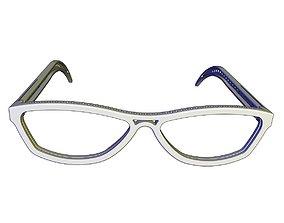 3D print model Adult Glasses V1