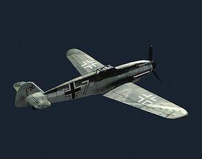 Bf-109G 3D asset