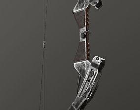 VR / AR ready Pneumatic bow prototype - lowpoly 3d model