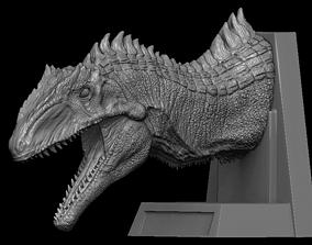 3D Jurassic world Dominion Giganotosaurus head bust