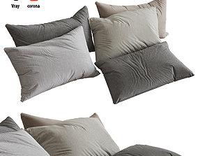 Pillows set 05 3D