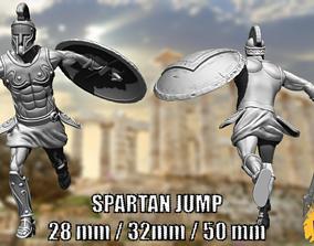 3D print model Spartan Jump - 28 - 35 - 50 mm game