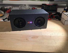 DIY stereo speaker 3D printable model