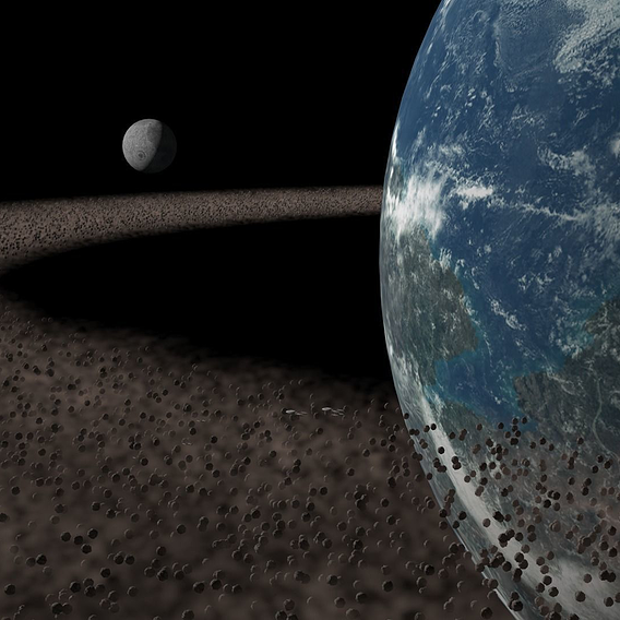 Highly detailed Planet Scene