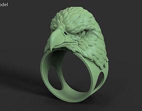 Eagle vol2 ring 3D printable model