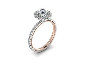 luxury 3D printable model Ring 66
