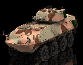 3D model LAV 25 Piranha Poser Vue