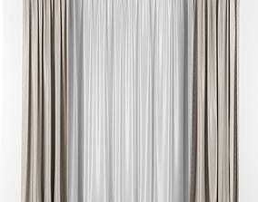 3D Transparent curtains