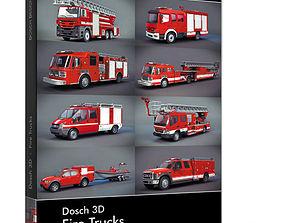 Dosch 3D - Fire Trucks fireman