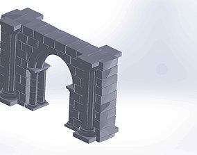 3d print scenery - Gothic design scenery