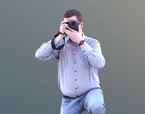 Fabian 10589 - Photographing Casual Man 3D model