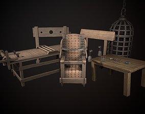 Torture Devices PACK 3D asset