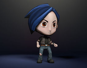 rigged 3D character - Ben