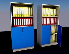 3D model Two file cabinets 50x90x190 cm