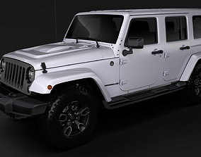 Jeep Wrangler Unlimited Smoky Mountain JK 2017 3D model