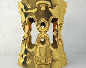 Ulu Concave Stool by Jonathan Adler 3D