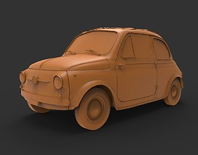 Fiat Nuova 500 3D print model