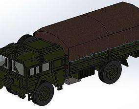 militar MAN KAT 1 4x4 MILITARY TRUCK - 3D PRINT Design