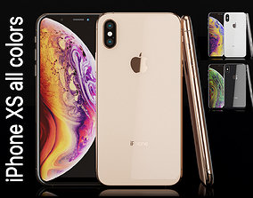 Apple iPhone XS all colors Most Accurate 3D model