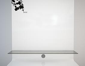 3D asset Modern TV stand Moda Look