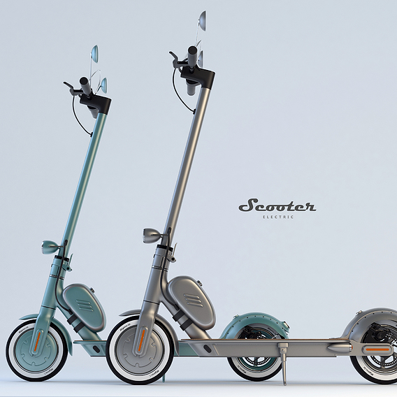 Scooter ( retro style design)