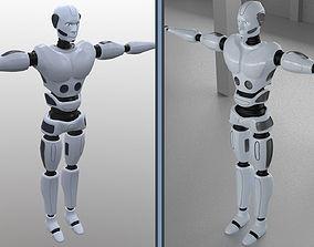 3D asset Robot man character