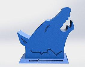 monster Wolf phoneholder 3D print model