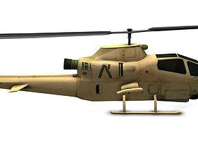 Bell AH-1 Cobra 3D asset