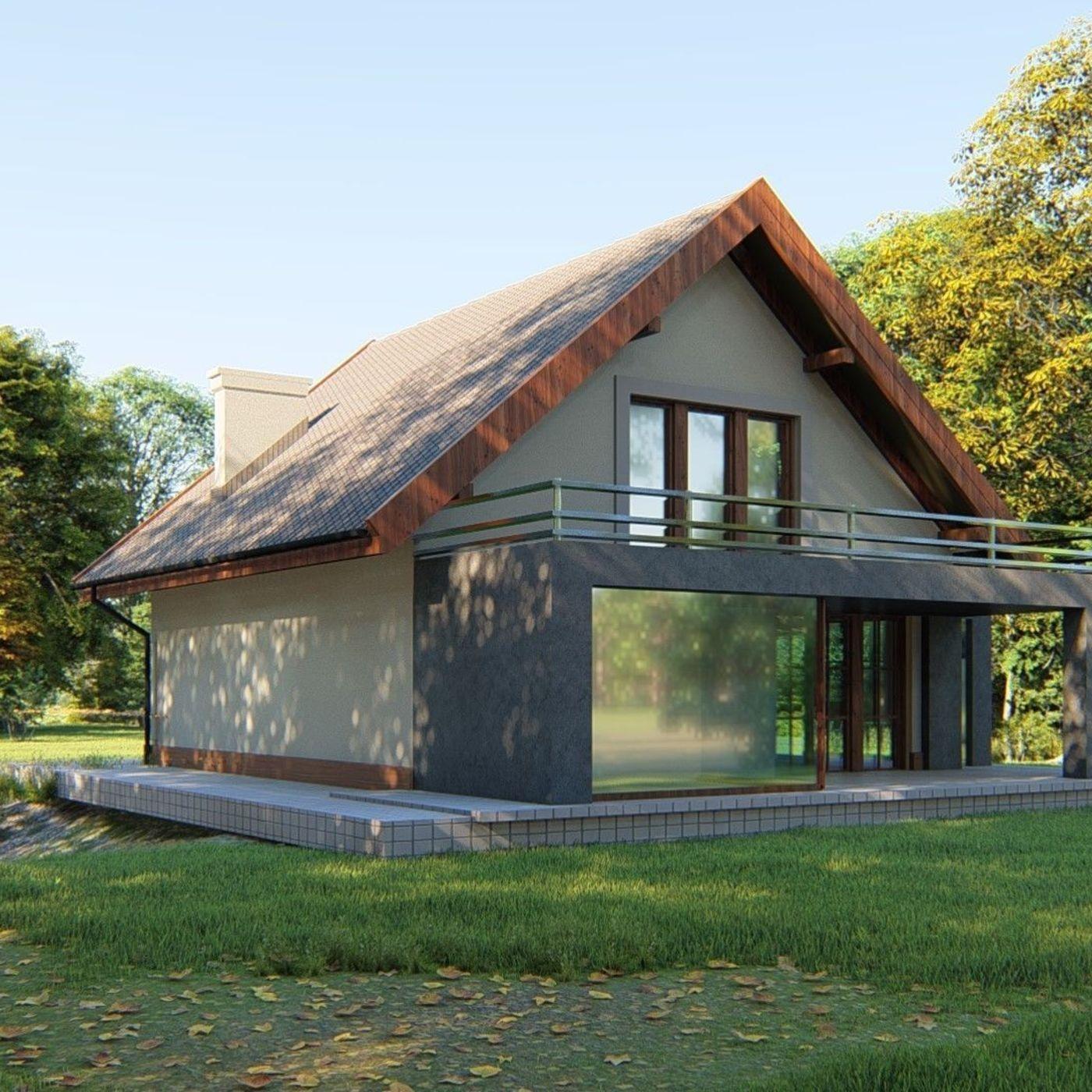 modern european house
