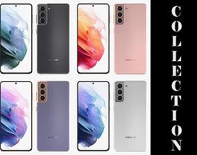 Samsung Galaxy S21 All Colors 3D model