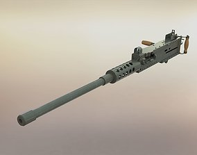 Browning M2 browning 3D model