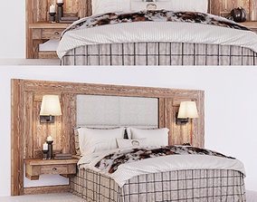 3D Chalet stile bed furniture