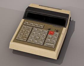 Old Calculator 3D model
