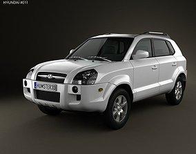 3D Hyundai Tucson 2006