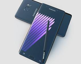 3D asset Samsung Galaxy Note7