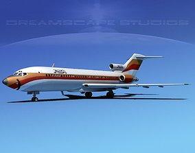 Boeing 727-100 PSA 2 3D model