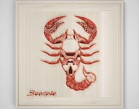 3D model Scorpio Frame