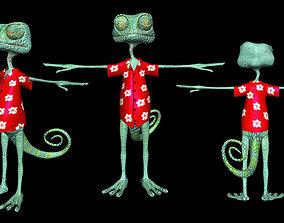 RANGO 2011 movie model 3D
