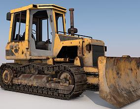 Bulldozer 3D Model VR / AR ready