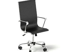 3D Black Swivel Chair
