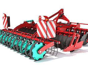 3D model Compact Disc Harrow