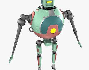 3D asset Cartoon SphereBot