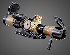 Sniper Optic Assault Scope 1 - 4x28 AAA FPS realtime 2