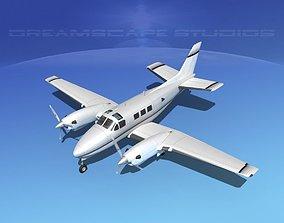 Beechcraft King Air C90 V14 3D